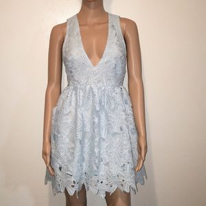Sassy Deep-V , Open Back Dress!